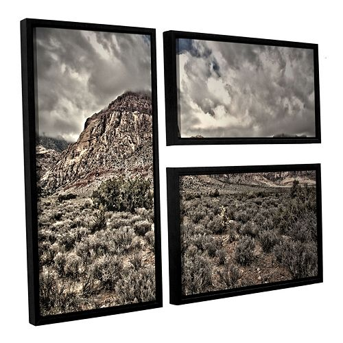 ArtWall ''No Distractions'' Framed Wall Art 3-piece Set
