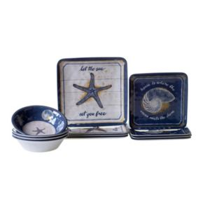 Certified International Calm Seas 12-pc. Dinnerware Set