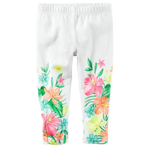 Girls 4-8 Carter's Print Leggings