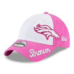 Youth New Era Denver Broncos 9TWENTY Glitter Sweep Adjustable Cap