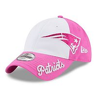 Youth New Era New England Patriots 9TWENTY Glitter Sweep Adjustable Cap