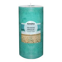 SONOMA Goods for Life™ Seaside Breeze 6' x 3' Pillar Candle
