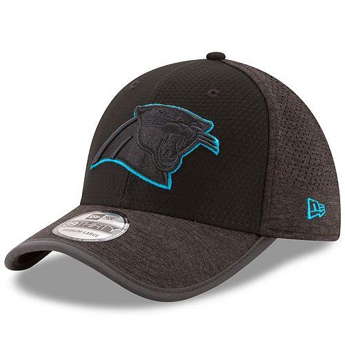 Adult New Era Carolina Panthers 39THIRTY Tech Flex-Fit Cap