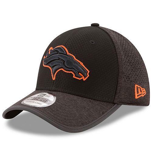 Adult New Era Denver Broncos 39THIRTY Tech Flex-Fit Cap