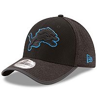 Adult New Era Detroit Lions 39THIRTY Tech Flex-Fit Cap