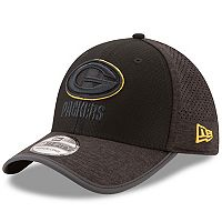 Adult New Era Green Bay Packers 39THIRTY Tech Flex-Fit Cap