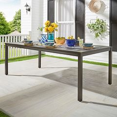 HomeVance Borego Patio Dining Table