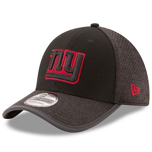 Adult New Era New York Giants 39THIRTY Tech Flex-Fit Cap