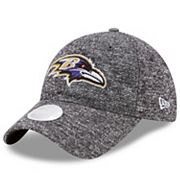 Women's New Era Baltimore Ravens 9TWENTY Total Terry Adjustable Cap