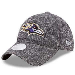 Women's New Era Baltimore Ravens 9TWENTY Total Terry Adjustable Cap