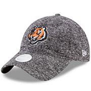 Women's New Era Cincinnati Bengals 9TWENTY Total Terry Adjustable Cap