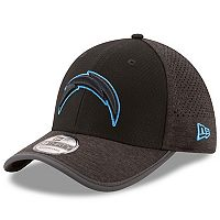 Adult New Era Los Angeles Chargers 39THIRTY Tech Flex-Fit Cap