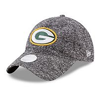 Women's New Era Green Bay Packers 9TWENTY Total Terry Adjustable Cap