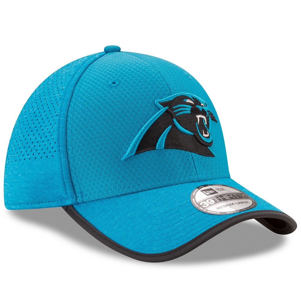 Adult New Era Carolina Panthers 39THIRTY Training Flex-Fit Cap