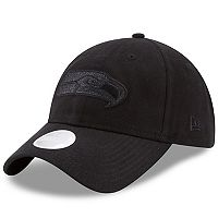 Women's New Era Seattle Seahawks 9TWENTY Team Glisten Adjustable Cap