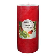 SONOMA Goods for Life™ Apple Orchard 6' x 3' Pillar Candle