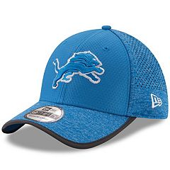 Adult New Era Detroit Lions 39THIRTY Training Flex-Fit Cap