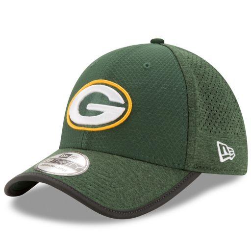 Adult New Era Green Bay Packers 39THIRTY Training Flex-Fit Cap