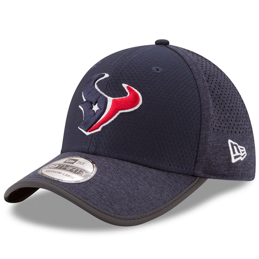 Adult New Era Houston Texans 39THIRTY Training Flex-Fit Cap