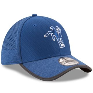 Adult New Era Indianapolis Colts 39THIRTY Training Flex-Fit Cap