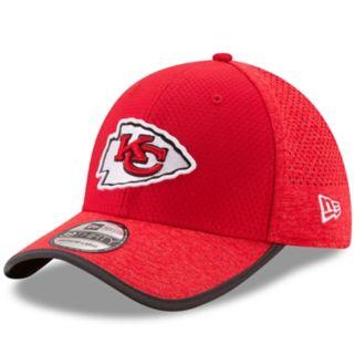 Adult New Era Kansas City Chiefs 39THIRTY Training Flex-Fit Cap