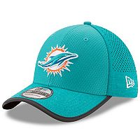 Adult New Era Miami Dolphins 39THIRTY Training Flex-Fit Cap