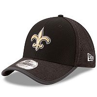 Adult New Era New Orleans Saints 39THIRTY Training Flex-Fit Cap