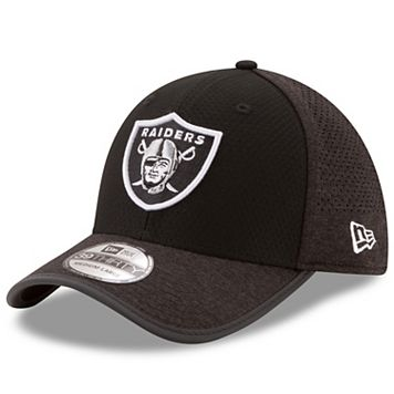 Adult New Era Oakland Raiders 39THIRTY Training Flex-Fit Cap