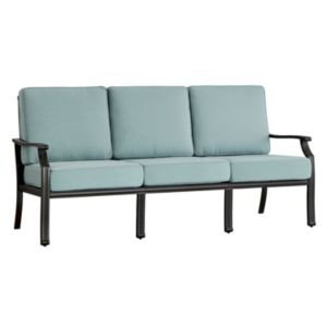 HomeVance Borego Blue Patio Sofa