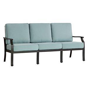 HomeVance Borego Blue Patio Sofa
