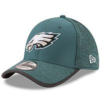 Adult New Era Philadelphia Eagles 39THIRTY Training Flex-Fit Cap