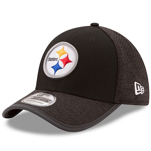 Adult New Era Pittsburgh Steelers 39THIRTY Training Flex-Fit Cap