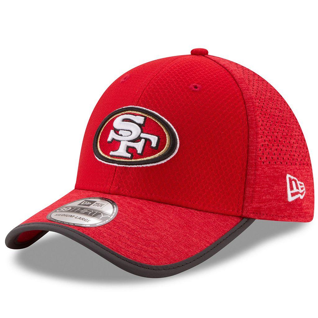 Adult New Era San Francisco 49ers 39THIRTY Training Flex-Fit Cap