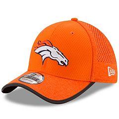 1848c3cf4d3b89 Adult New Era Denver Broncos 39THIRTY Training Flex-Fit Cap