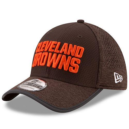 Adult New Era Cleveland Browns 39THIRTY Training Flex-Fit Cap
