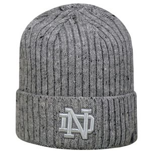 Adult Top of the World Notre Dame Fighting Irish Two Below Beanie