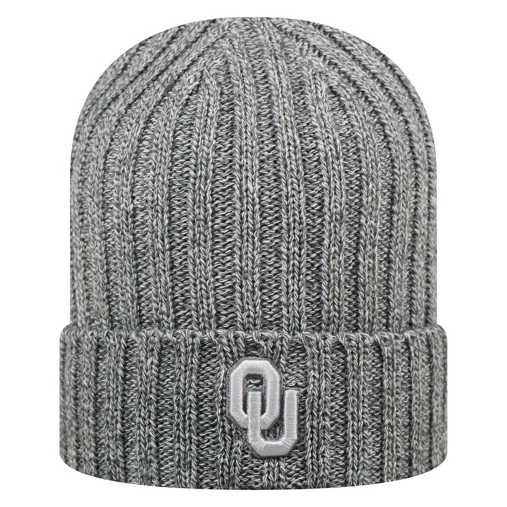 Adult Top of the World Oklahoma Sooners Two Below Beanie