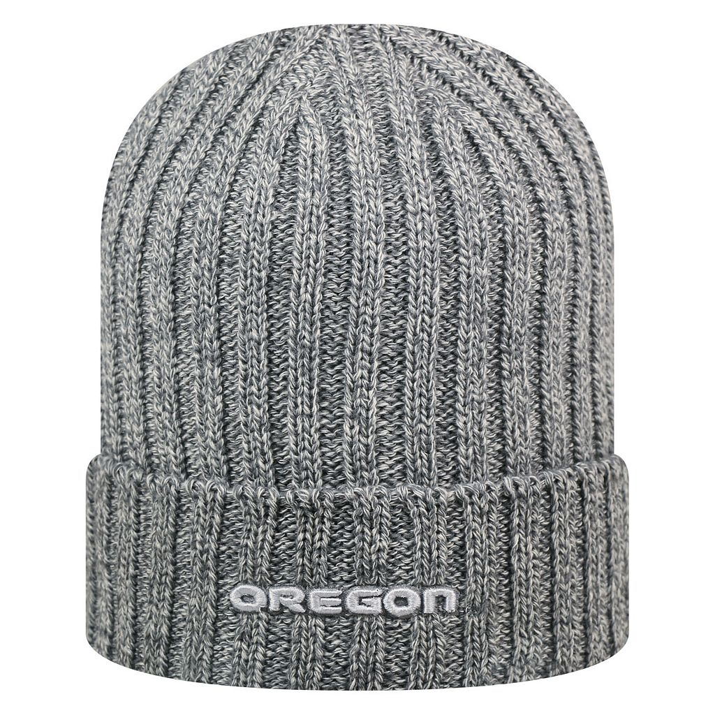 Adult Top of the World Oregon Ducks Two Below Beanie