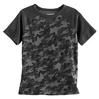 Boys 4-10 Jumping Beans® Raglan Camouflaged Tee