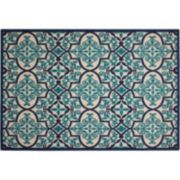 Nourison Aloha Grand Escape Quatrefoil Indoor Outdoor Rug