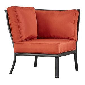 HomeVance Borego Corner Patio Chair