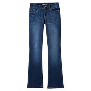 Girls 7-16 Mudd® Back-Flap Bootcut Denim Jeans