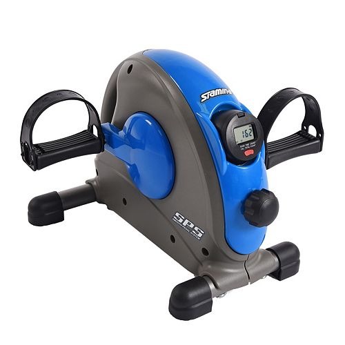 Stamina Mini Exercise Bike with Smooth Pedal System