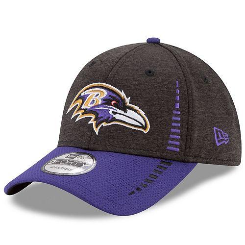 best sneakers 7183d 5d807 Adult New Era Baltimore Ravens 9FORTY Speed Tech Adjustable Cap