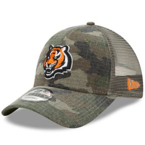 Adult New Era Cincinnati Bengals 9FORTY Camo Snapback Cap