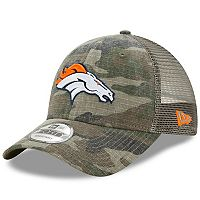 Adult New Era Denver Broncos 9FORTY Camo Snapback Cap