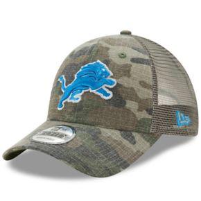 Adult New Era Detroit Lions 9FORTY Camo Snapback Cap
