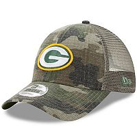 Adult New Era Green Bay Packers 9FORTY Camo Snapback Cap