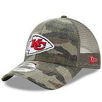Adult New Era Kansas City Chiefs 9FORTY Camo Snapback Cap
