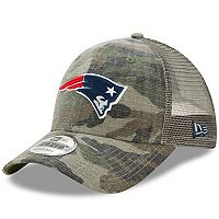 Adult New Era New England Patriots 9FORTY Camo Snapback Cap